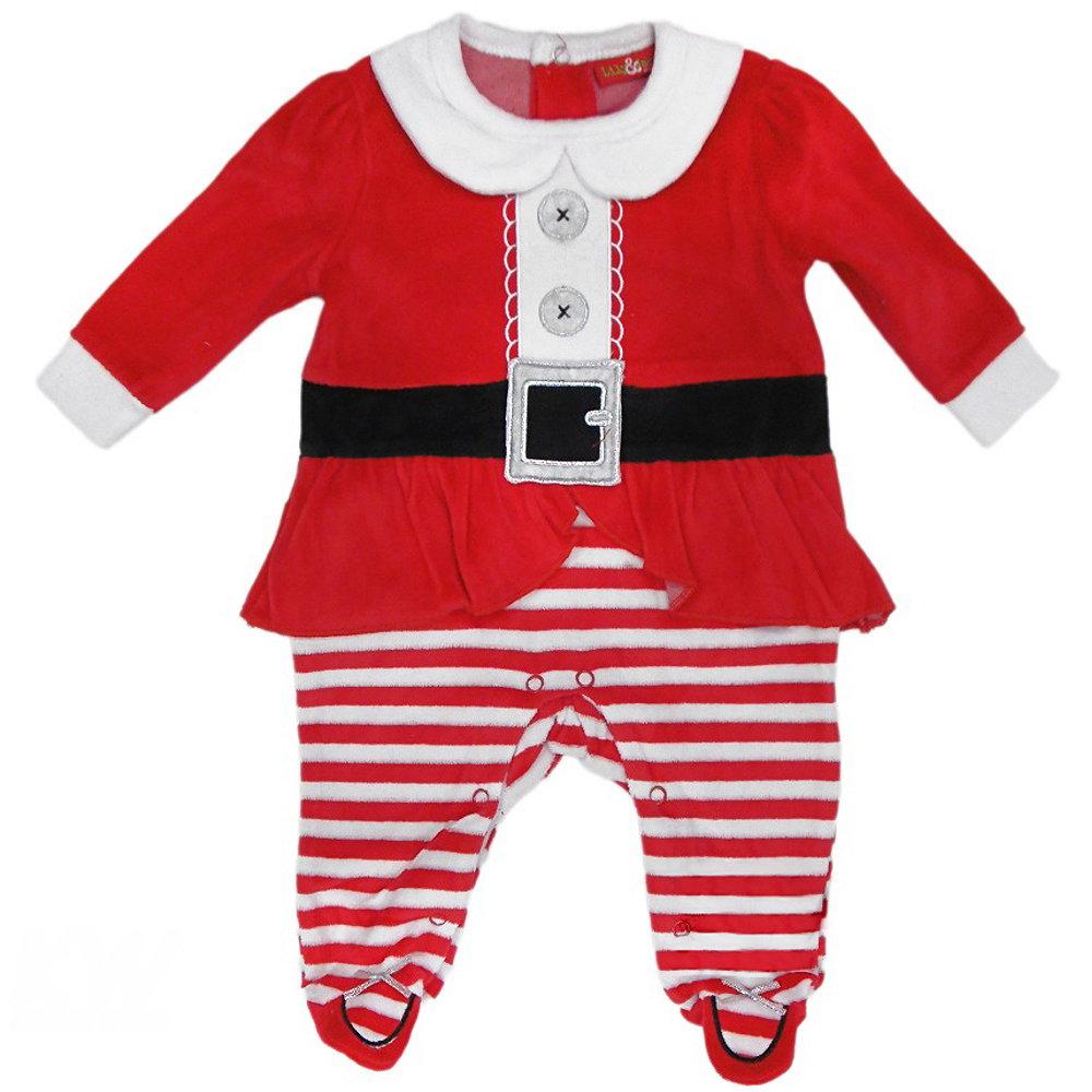 baby strampler weihnachtskost m weihnachtsstrampler overall weihnachtsmann neu. Black Bedroom Furniture Sets. Home Design Ideas