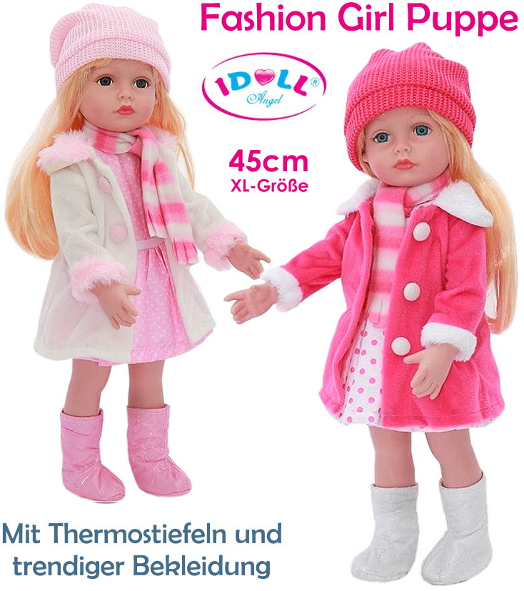 IDOLL Fashion Girl Puppe 45cm groß