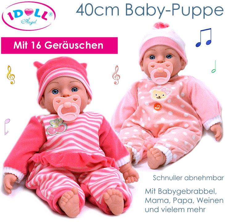 IDOLL Fashion Girl Puppe 40cm groß mit Geräuschen