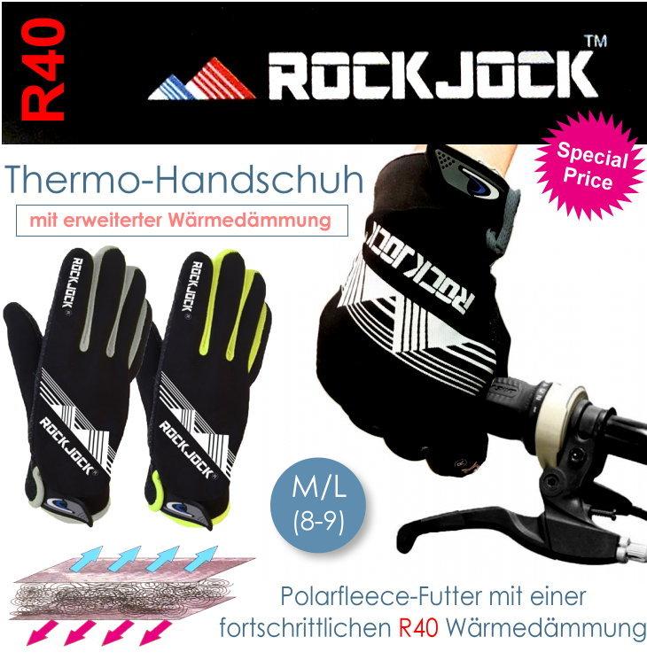 Rock Jock Thermohandschuhe mit R40