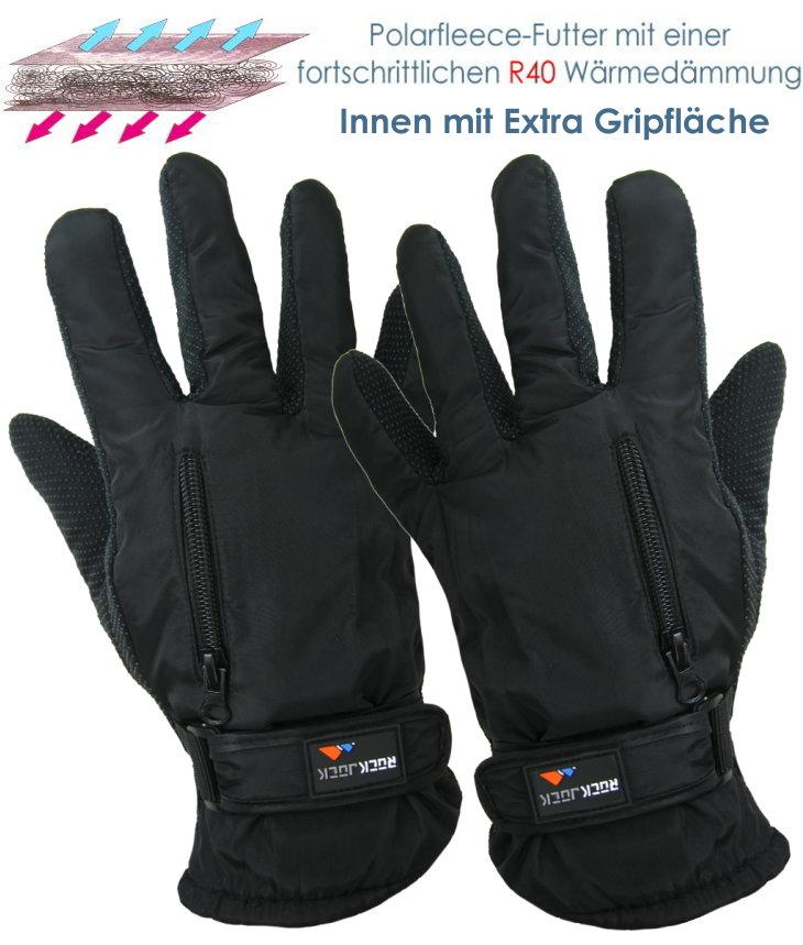 Winter-Handschuhe mit erweiterter Thermodämmung von Rock Jock