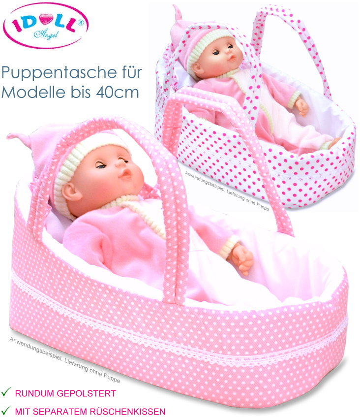 IDOLL Puppentasche Puppenkorb