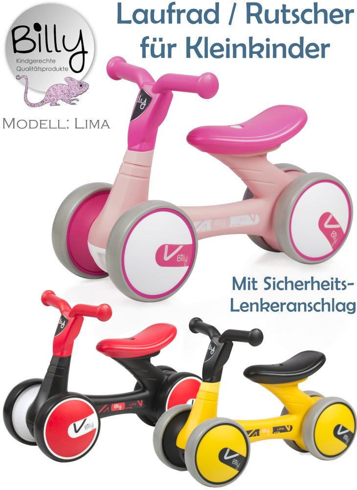 Billy Lima Laufrad Rutscher für Kleinkinder