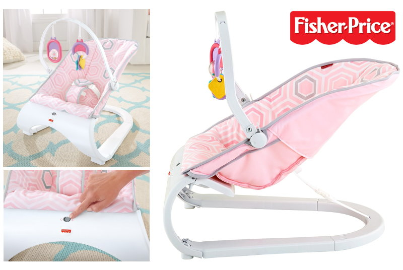 fisher price babywippe komfort curve wipper fdp03 rosa m dchen babyschaukel neu ebay. Black Bedroom Furniture Sets. Home Design Ideas