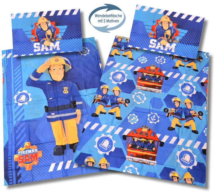 Feuerwehrmann Sam Bettwäsche Für Kleinkinder Bettbezug 100x135