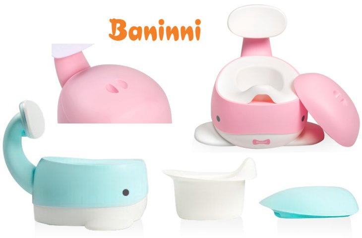 Baninni Kinder-Töpfchen Wal