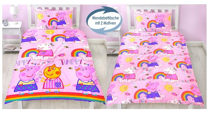 Peppa Wutz Pig Kinder Bettwäsche
