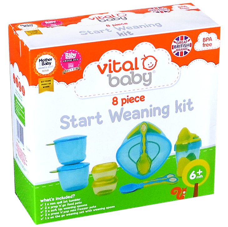Vital Baby 8-teiliges Ess Lernset