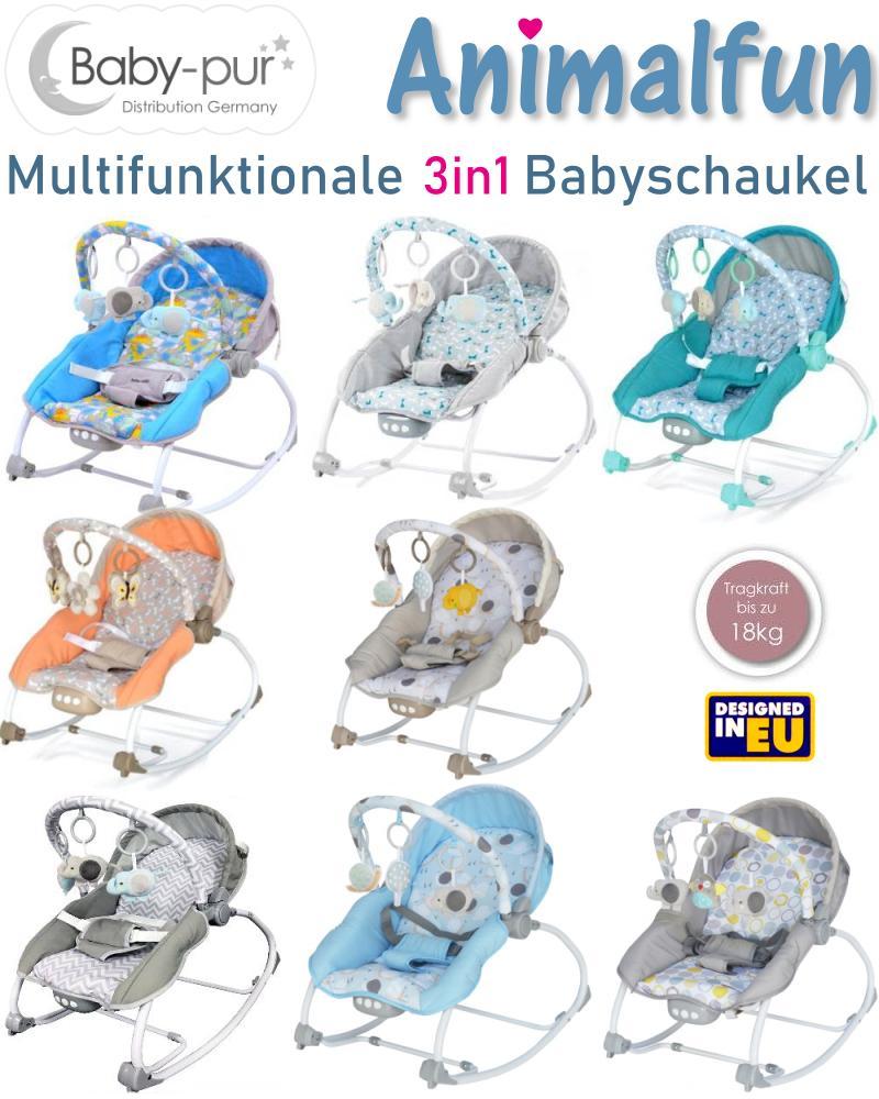 Baby-pur Distribution Baby Schaukel-Wippe Animalfun