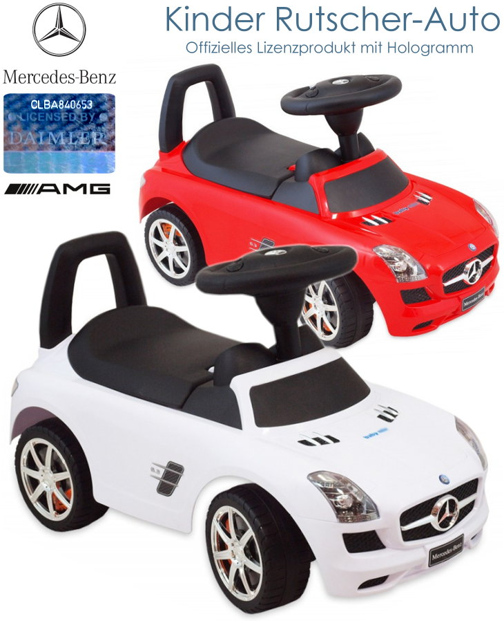 Mercedes Benz Kinder Rutscher Auto Bobbycar