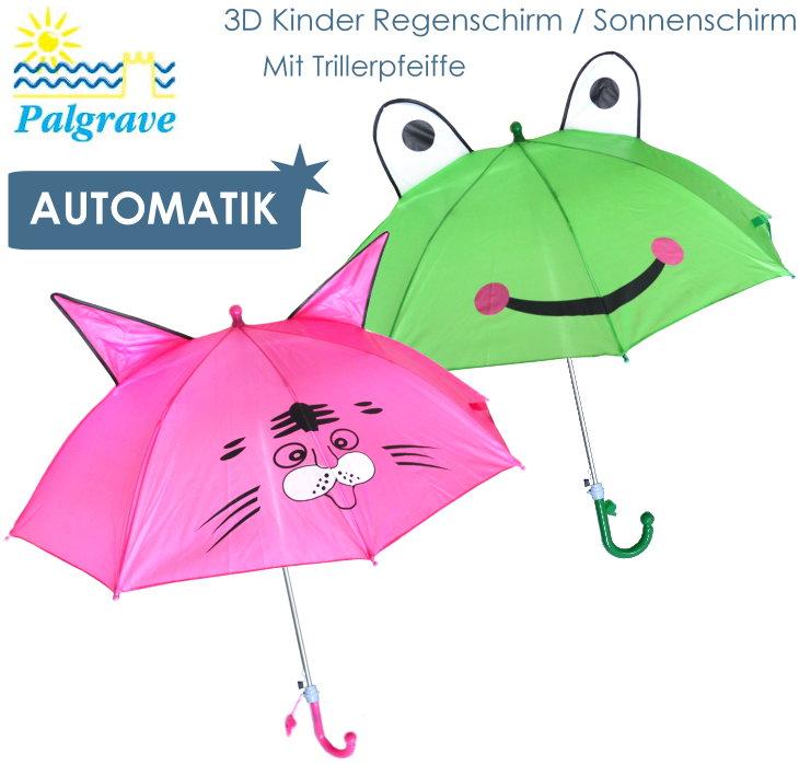 Palgrave 3D Automatik Kinderschirm