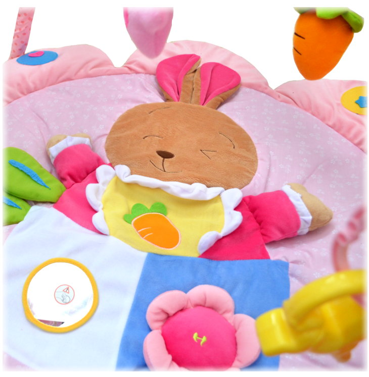 Baby-pur 3D Baby Erlebnisdecke Spieldecke Bunnyplay