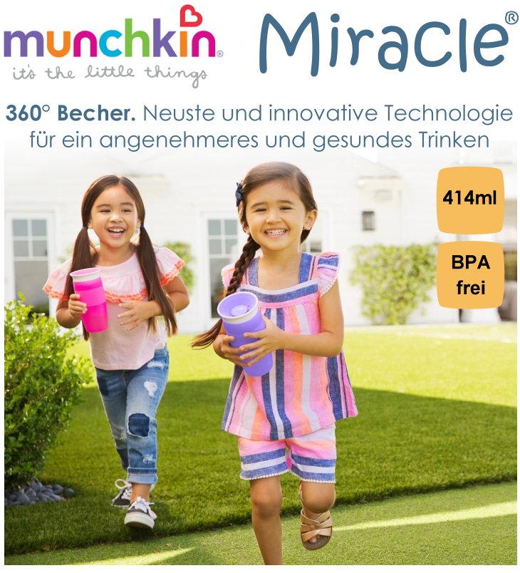 Munchkin Miracle 360° Becher 414ml