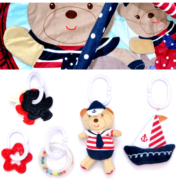Sailor Bear 3D Baby Erlebnisdecke Spieldecke