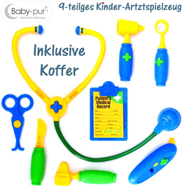 Kinder Arztkoffer Doktorkoffer Doktorspiel