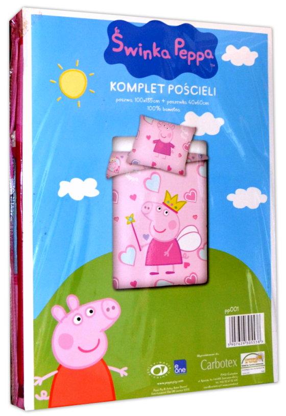 Baby Und Kinderbettwäsche 100x135cm Peppa Pig 538