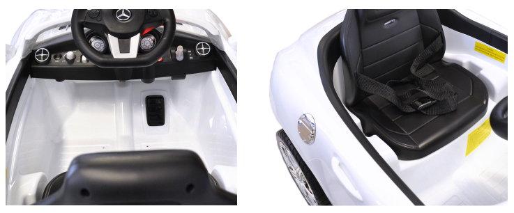 Elektro Auto Mercedes für Kinder