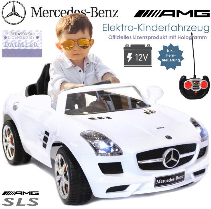 Kinder Elektrofahrzeug Mercedes Elektroauto