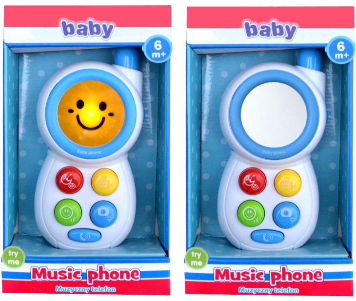 Kinder Spieltelefon mit Effekten