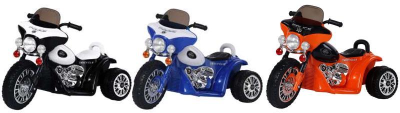Elektrisches Kinderfahrzeug Elektromotorrad Chopper E-Trike