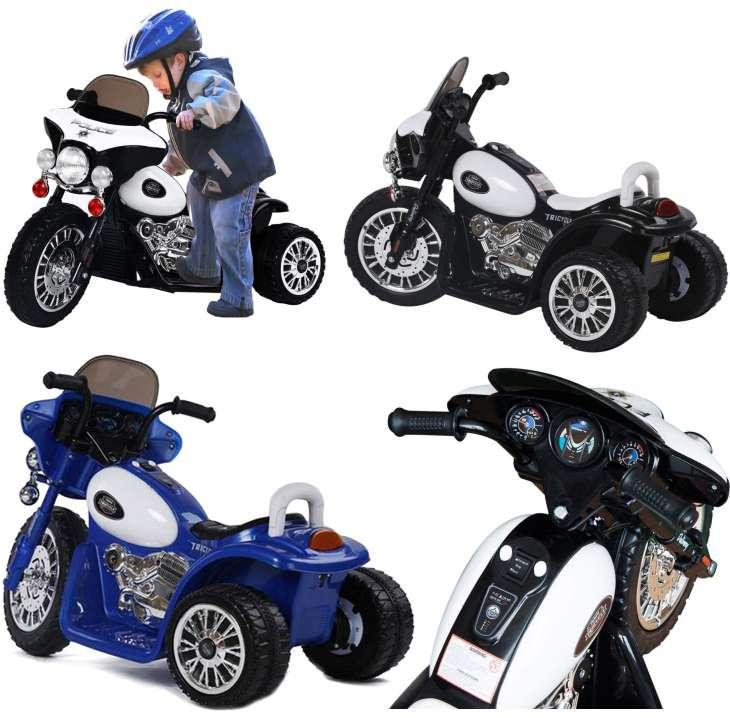 Elektrisches Kinderfahrzeug Elektromotorrad Chopper