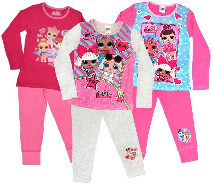 Kinder Bettwäsche LOL Surprise Pyjama Schlafanzug