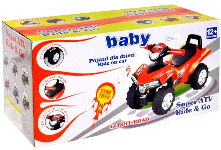 Kinder Rutscher Motorrad Quad