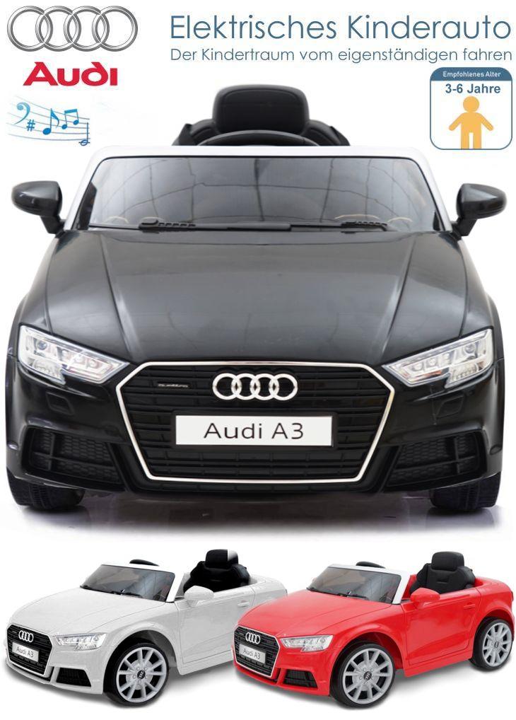 Kinder Elektrofahrzeug Audi A3 Elektroauto