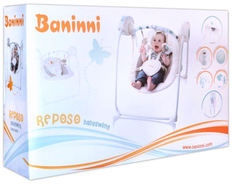 Elektrische Babyschaukel Baninni Reposo