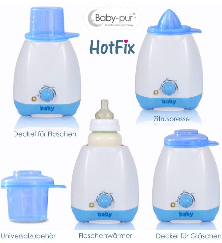 Elektrischer Flaschenwärmer Babykostwärmer HotFix