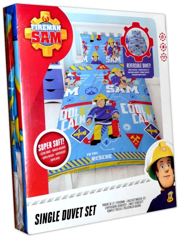 Hit Feuerwehrmann Sam Kinderbettwäsche Garnitur 246