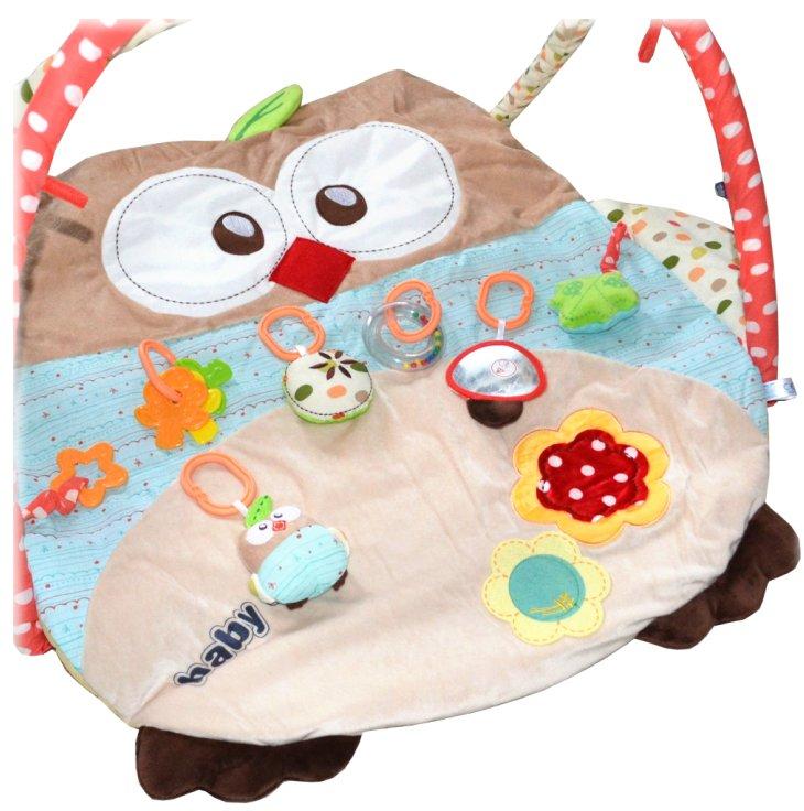 Baby 3D Baby Erlebnisdecke Owly Spieldecke