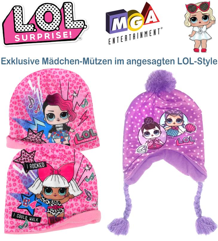 LOL Surprise Kindermütze