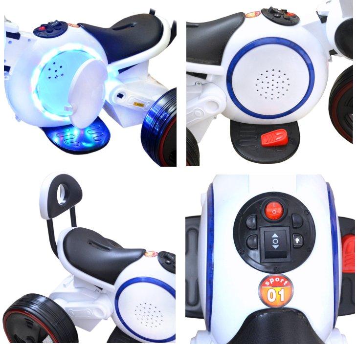 Elektrisches Kinderfahrzeug Elektromotorrad Hoverbike