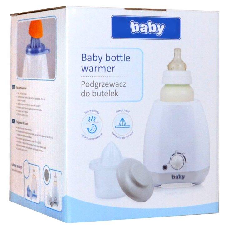 Elektrischer Flaschenwärmer Babykostwärmer HotFix grau