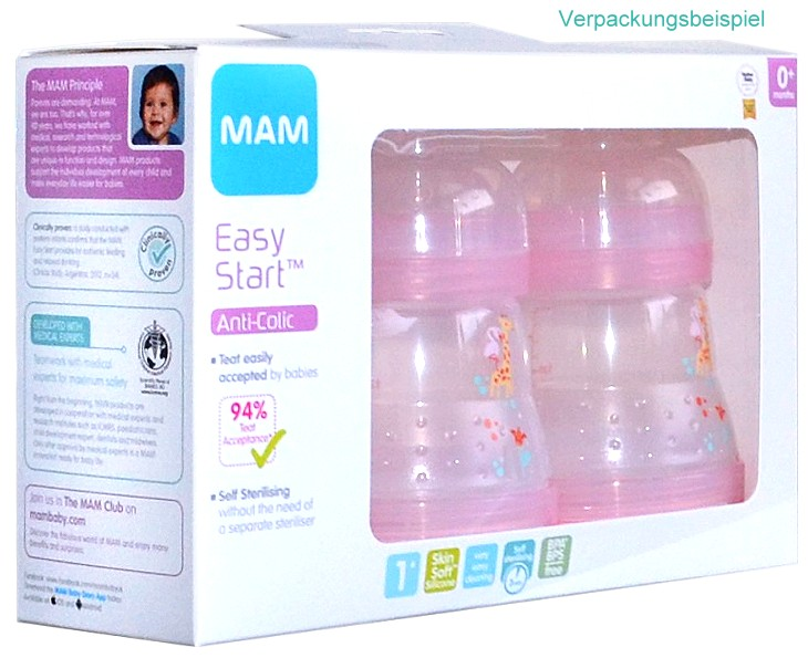 MAM 3 Stück 160ml Babyflaschen