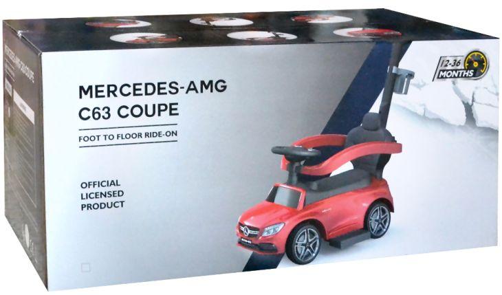 Mercedes Benz AMG Kinder Schiebefahrzeug Rutscher Bobbycar