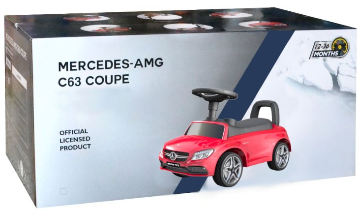 Mercedes Benz AMG Kinder Rutscher Auto Bobbycar