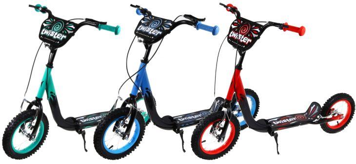 Kinder Roller mit Luftbereifung Twister