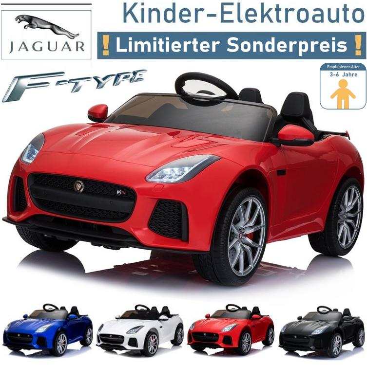 Kinder Elektrofahrzeug Jaguar F-Type Elektroauto