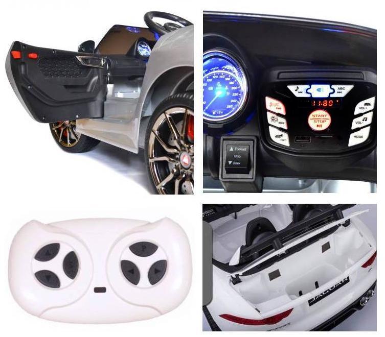 Elektro Auto Jaguar F-Type für Kinder
