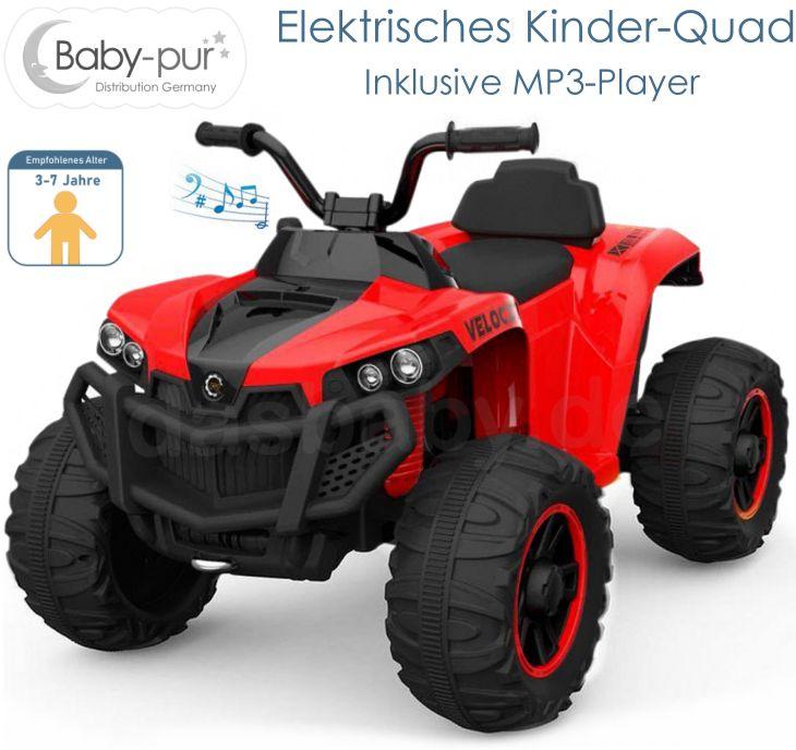 Kinder Elektromotorrad Elektro-Ouad