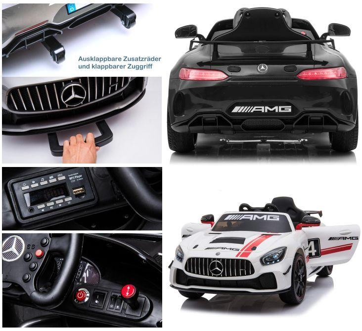 Elektro Auto Mercedes GT4 AMG für Kinder