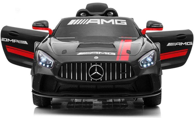 Elektro Auto Mercedes AMG GT4 für Kinder