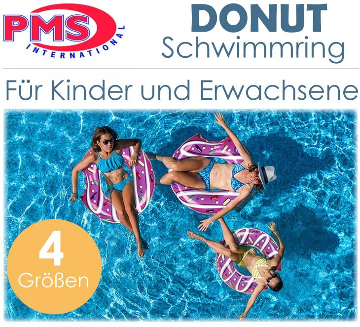 PMS Donut Schwimmring Badering