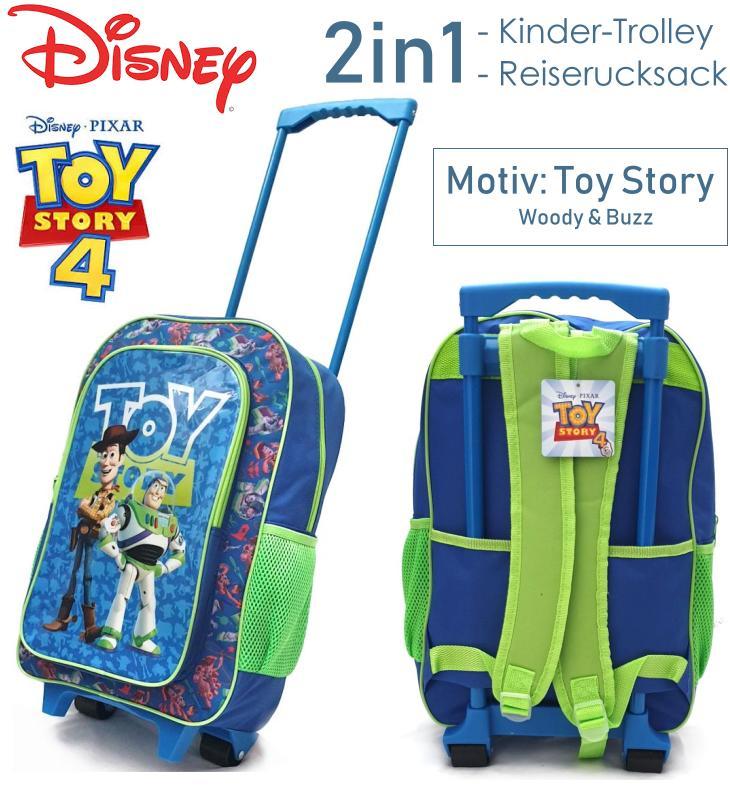 Kinder Trolley Reiserucksack Toy Story 4 Disney