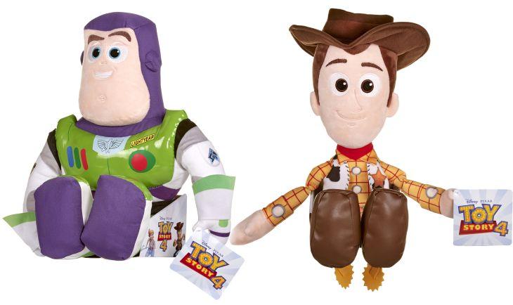 Toy Story 4 Plüschfiguren Buzz Lightyear Woody
