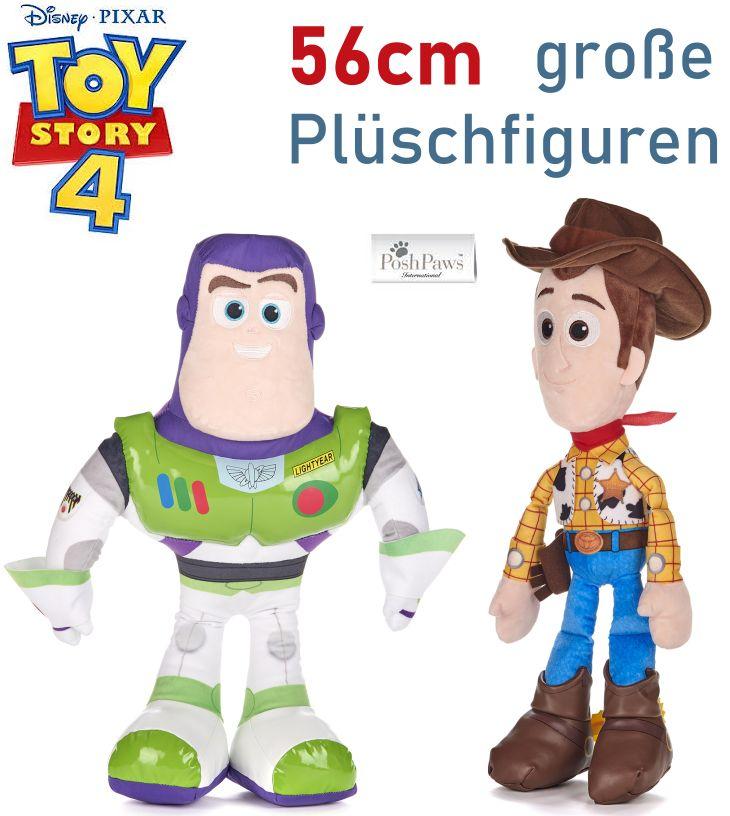 Plüschfiguren Toy Story 4 Woody Buzz Lightyear
