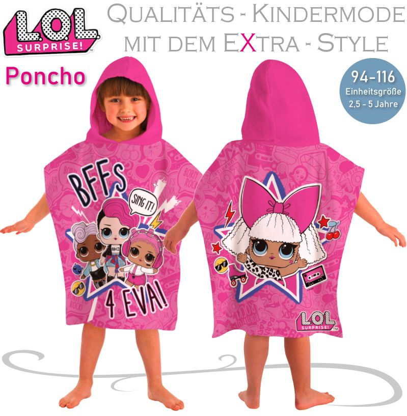 LOL Surprise Kinder-Poncho