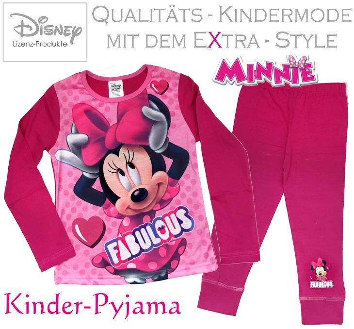 Minnie Maus Kinder Pyjama Set